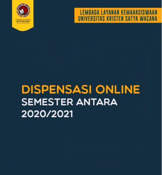 Pengumuman Dispensasi Uang Kuliah dan Uang Pembangunan Semester Antara 2020/2021