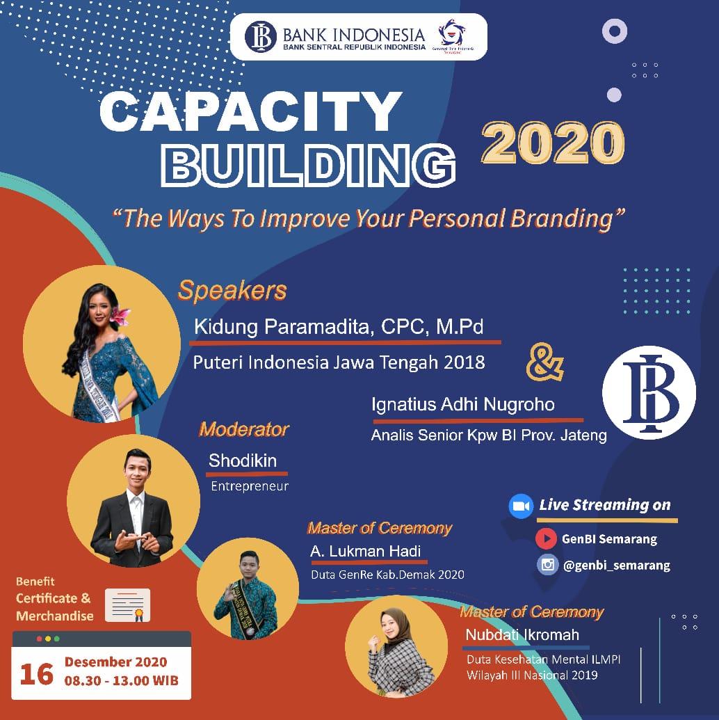 UNDANGAN KEGIATAN PENERIMA BANK INDONESIA 2020